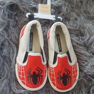 NWT Gap Junkfood Spiderman Shoes